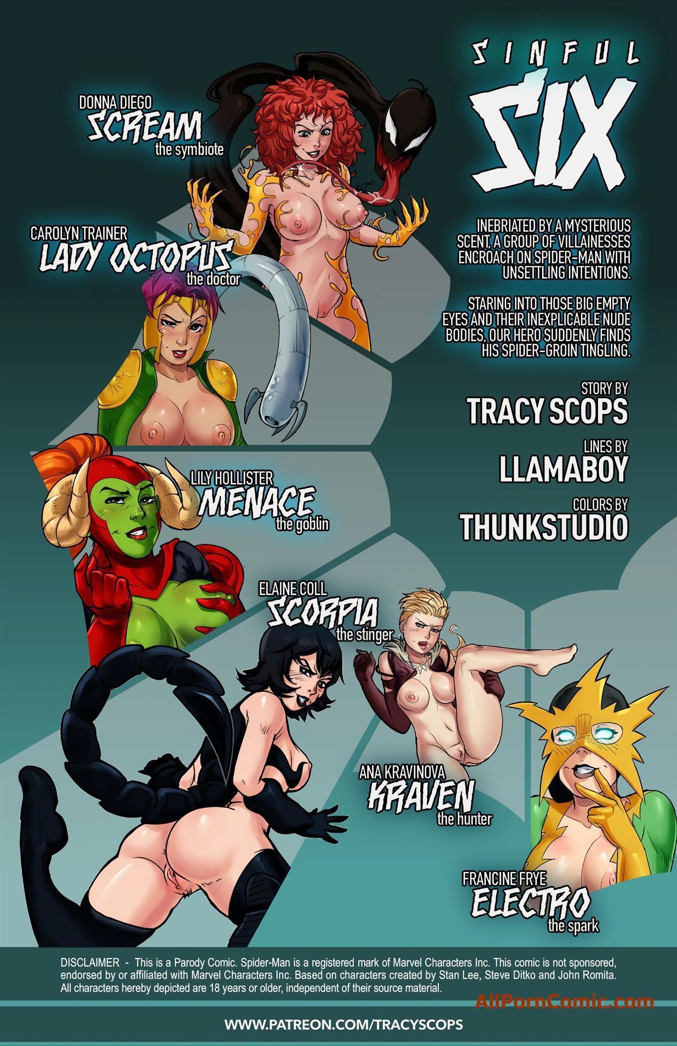 Sinful Six (Spider-Man) [Tracy Scops] - Foto 2