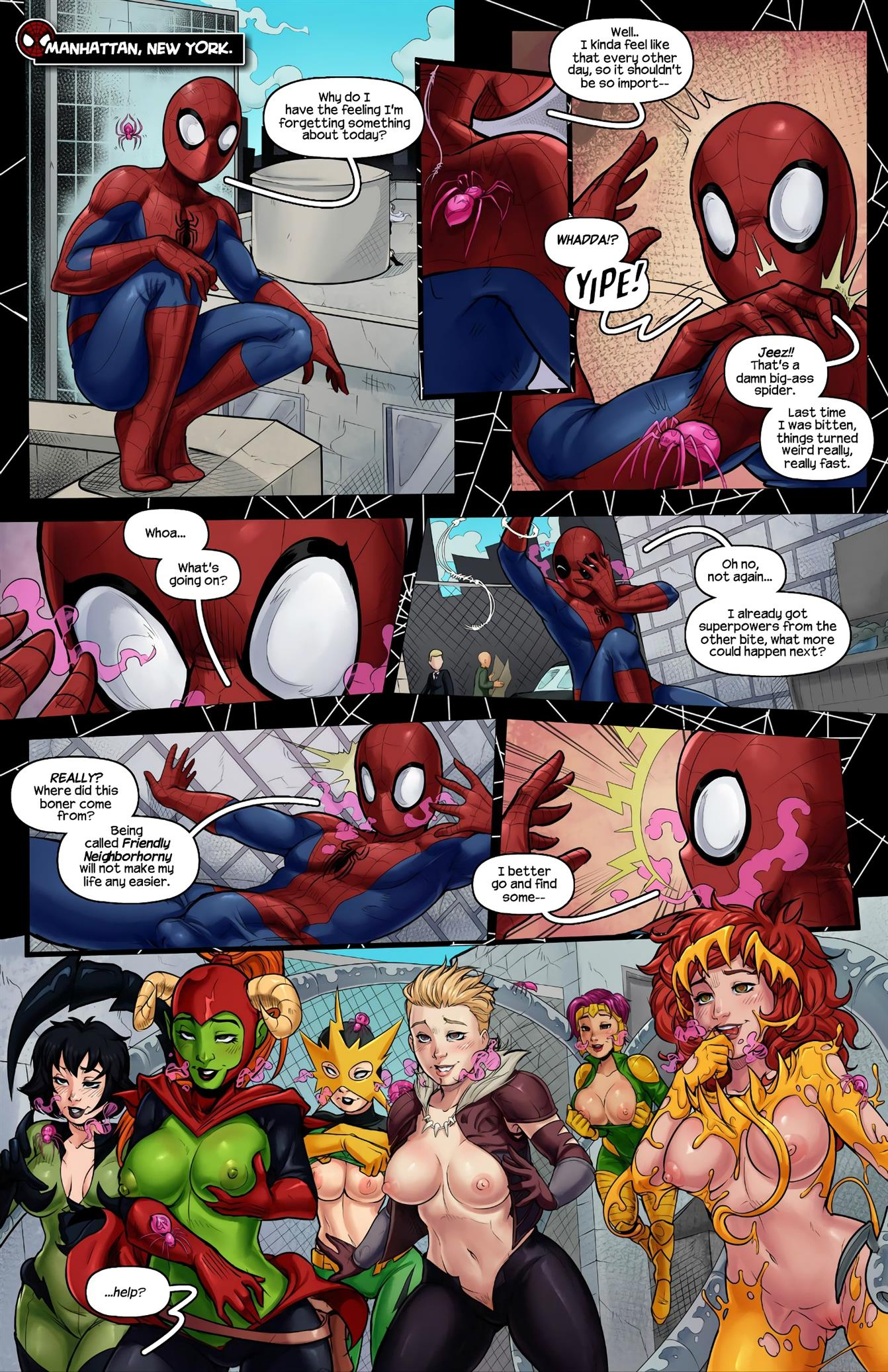 Sinful Six (Spider-Man) [Tracy Scops] - Foto 3