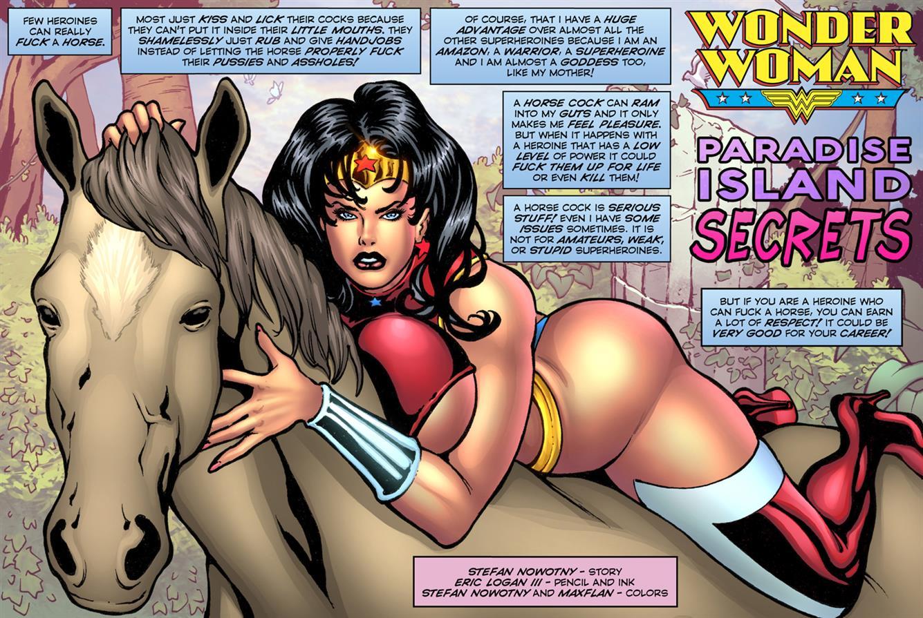 Paradise Island Secrets! (Wonder Woman) - Foto 1