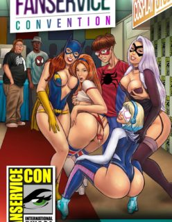 Fanservice Convention 1 [Tracy Scops]