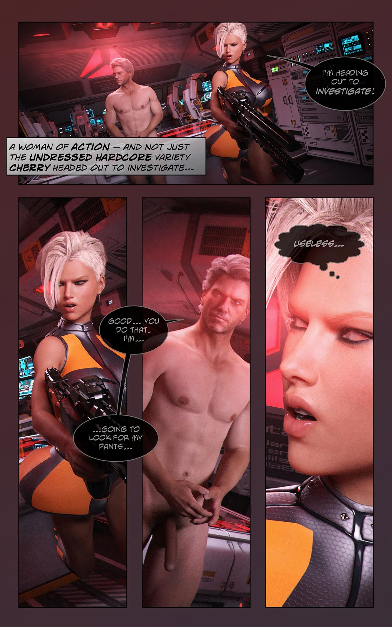 Space XXx- Invasion: Part One [Looks Can Kill] - Foto 10