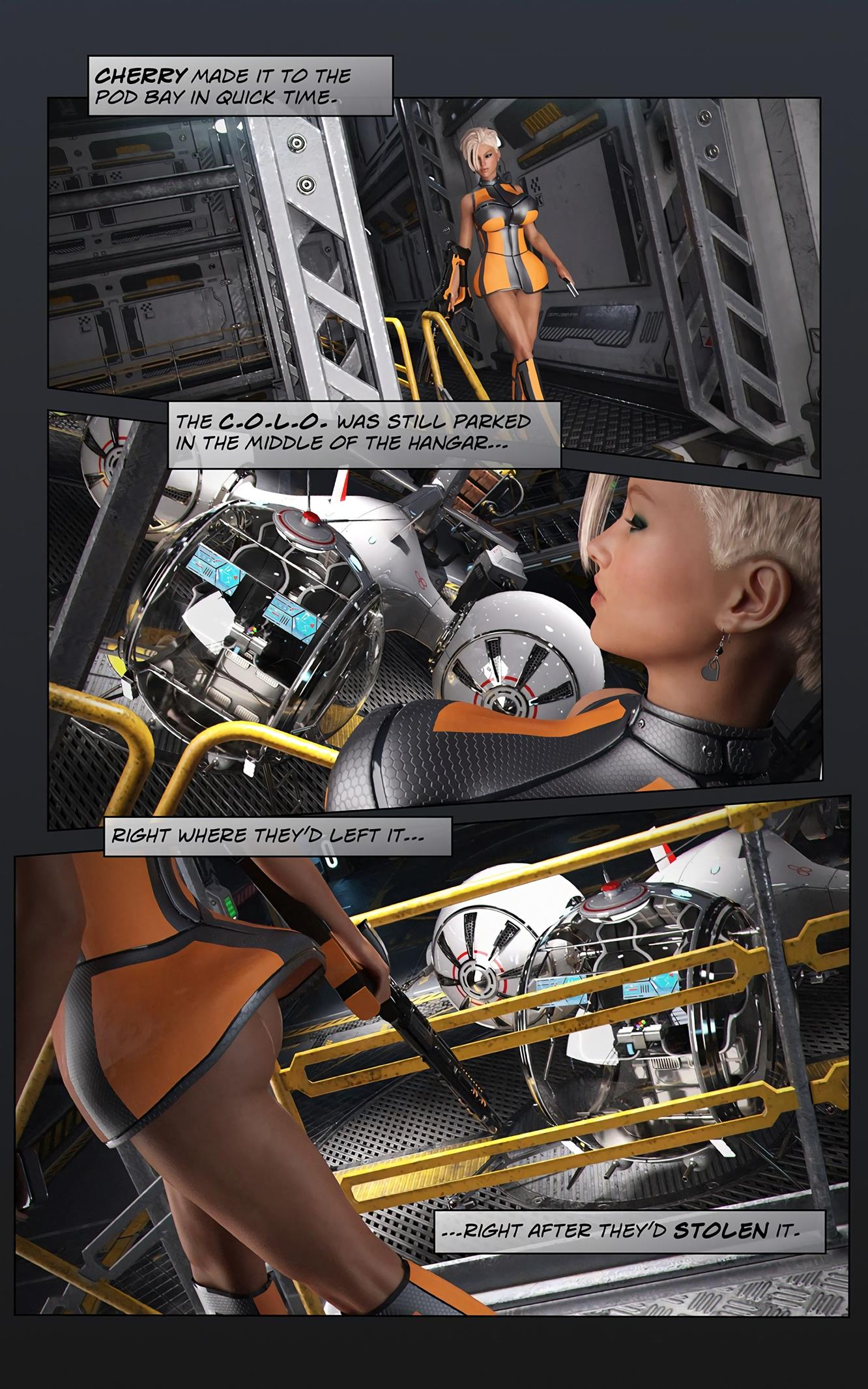 Space XXx- Invasion: Part One [Looks Can Kill] - Foto 11