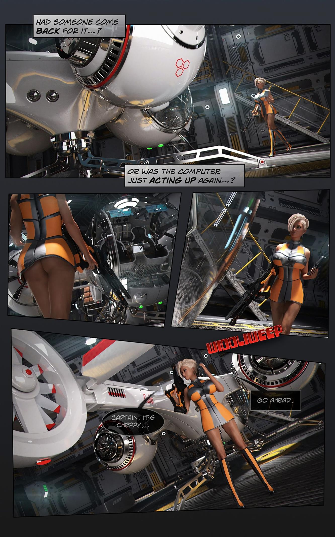 Space XXx- Invasion: Part One [Looks Can Kill] - Foto 12