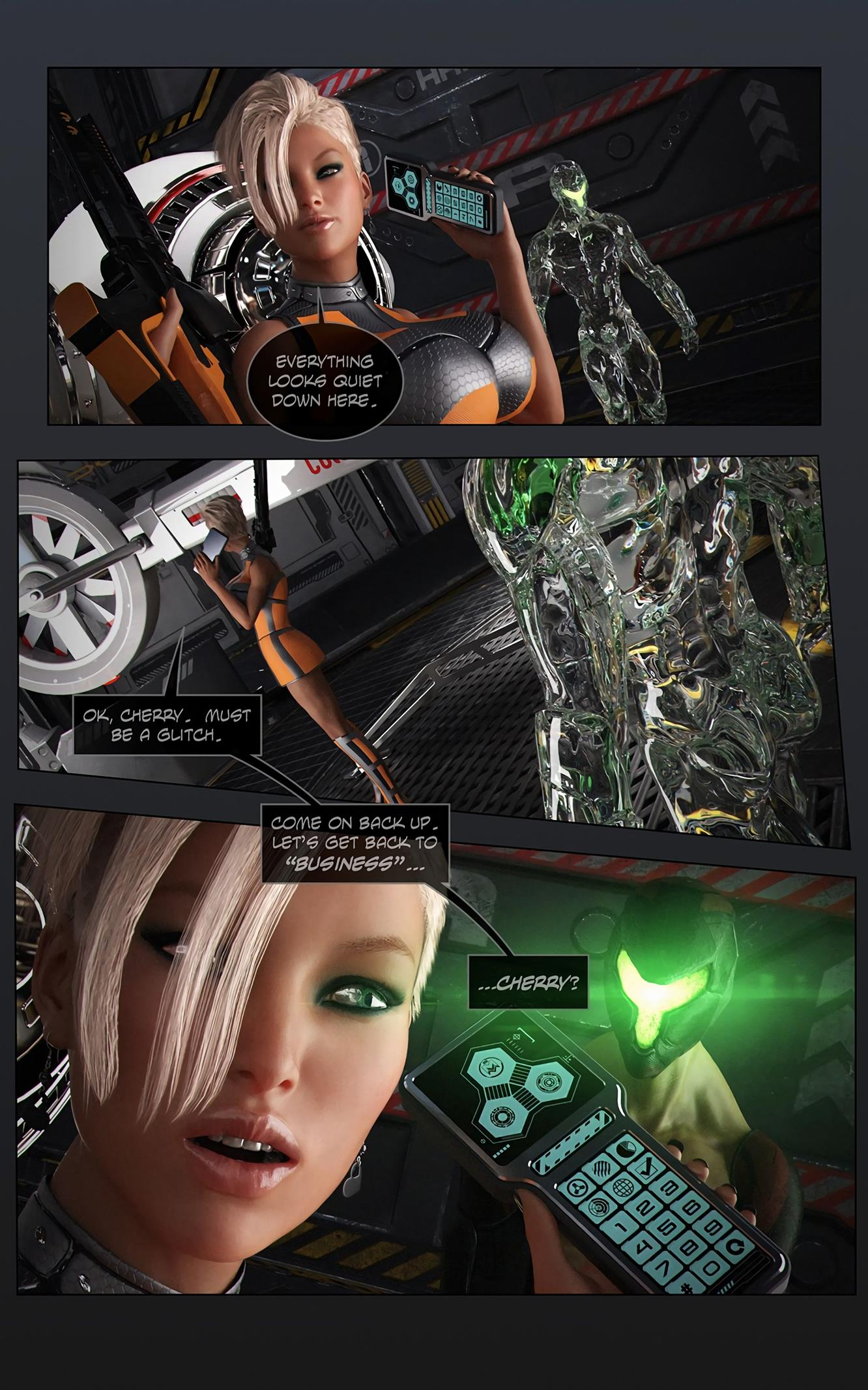 Space XXx- Invasion: Part One [Looks Can Kill] - Foto 13
