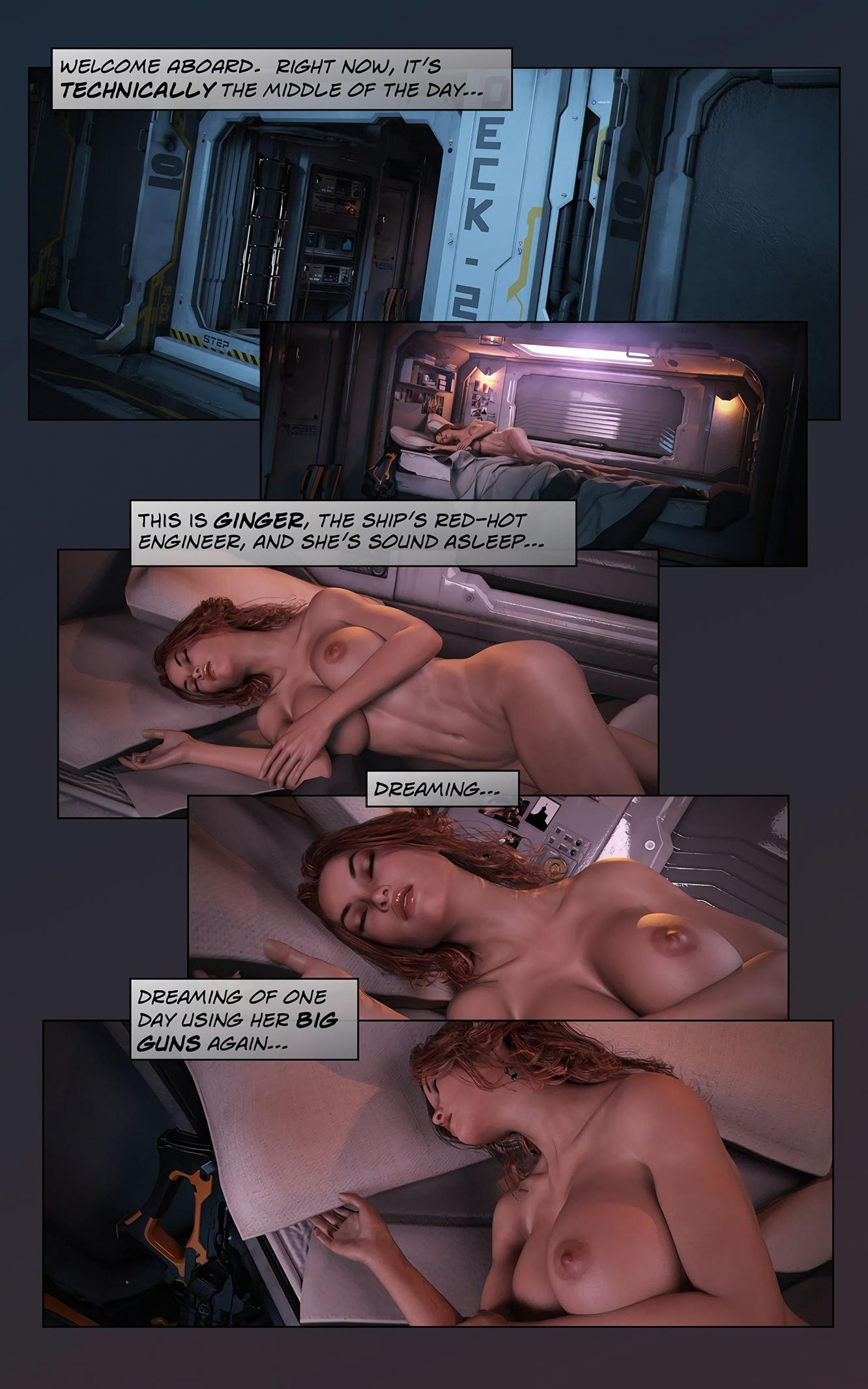 Space XXx- Invasion: Part One [Looks Can Kill] - Foto 3
