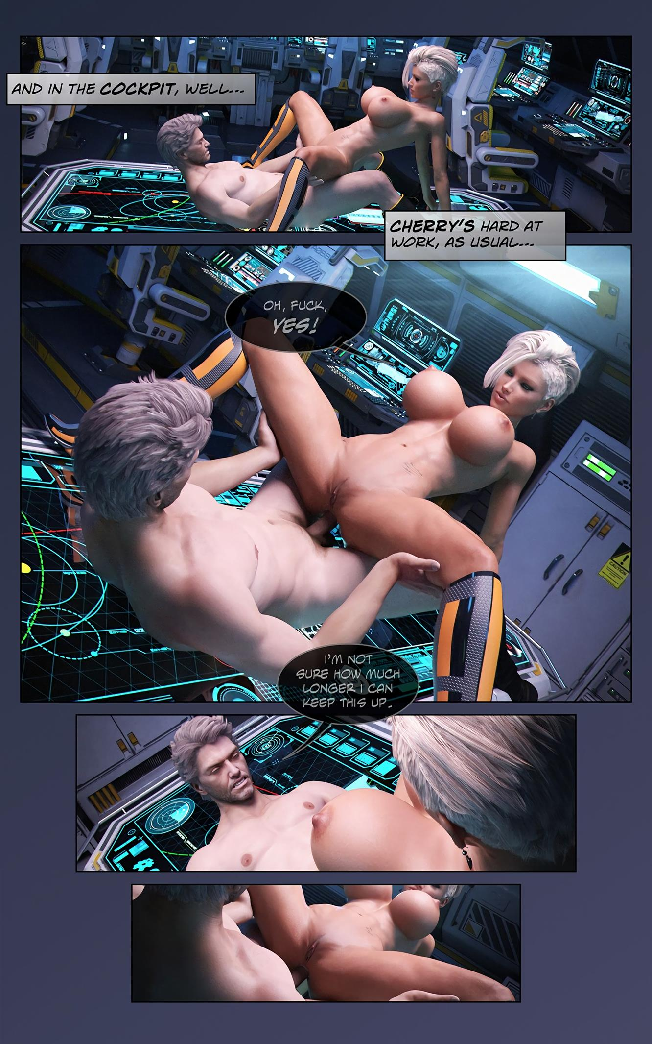 Space XXx- Invasion: Part One [Looks Can Kill] - Foto 5