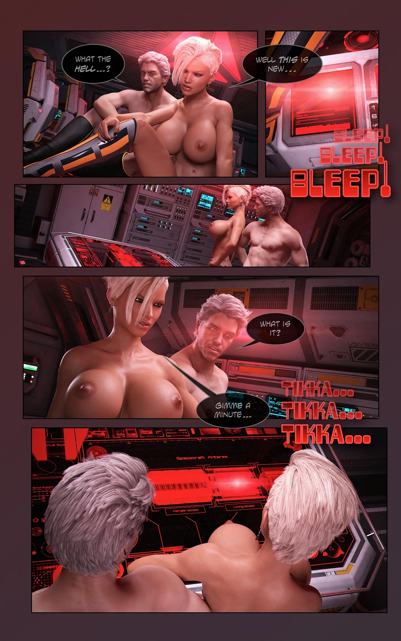 Space XXx- Invasion: Part One [Looks Can Kill] - Foto 8