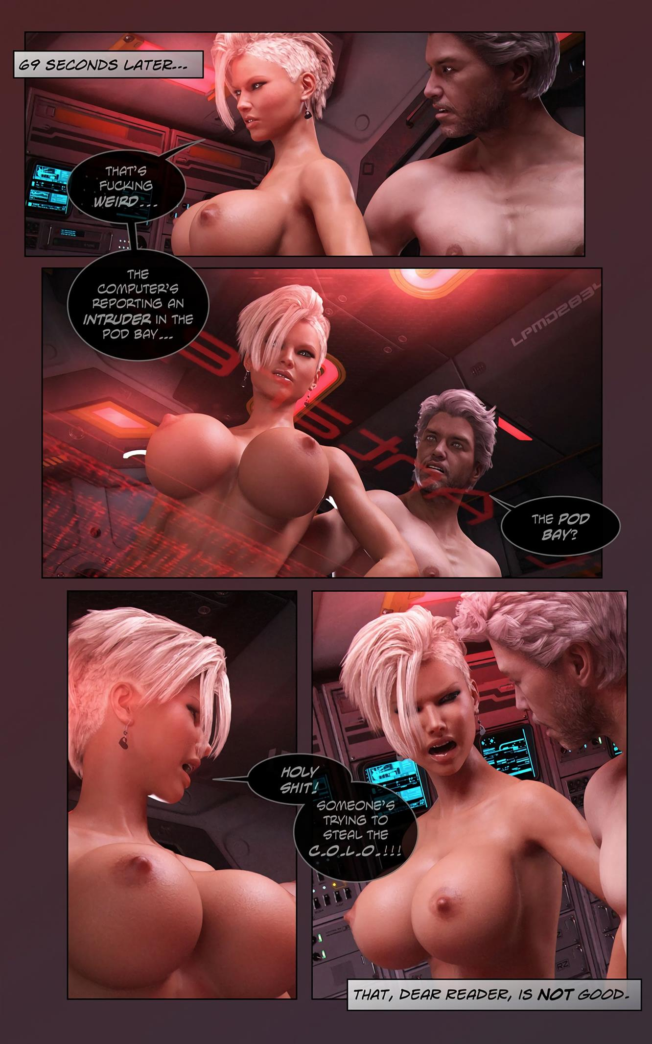 Space XXx- Invasion: Part One [Looks Can Kill] - Foto 9
