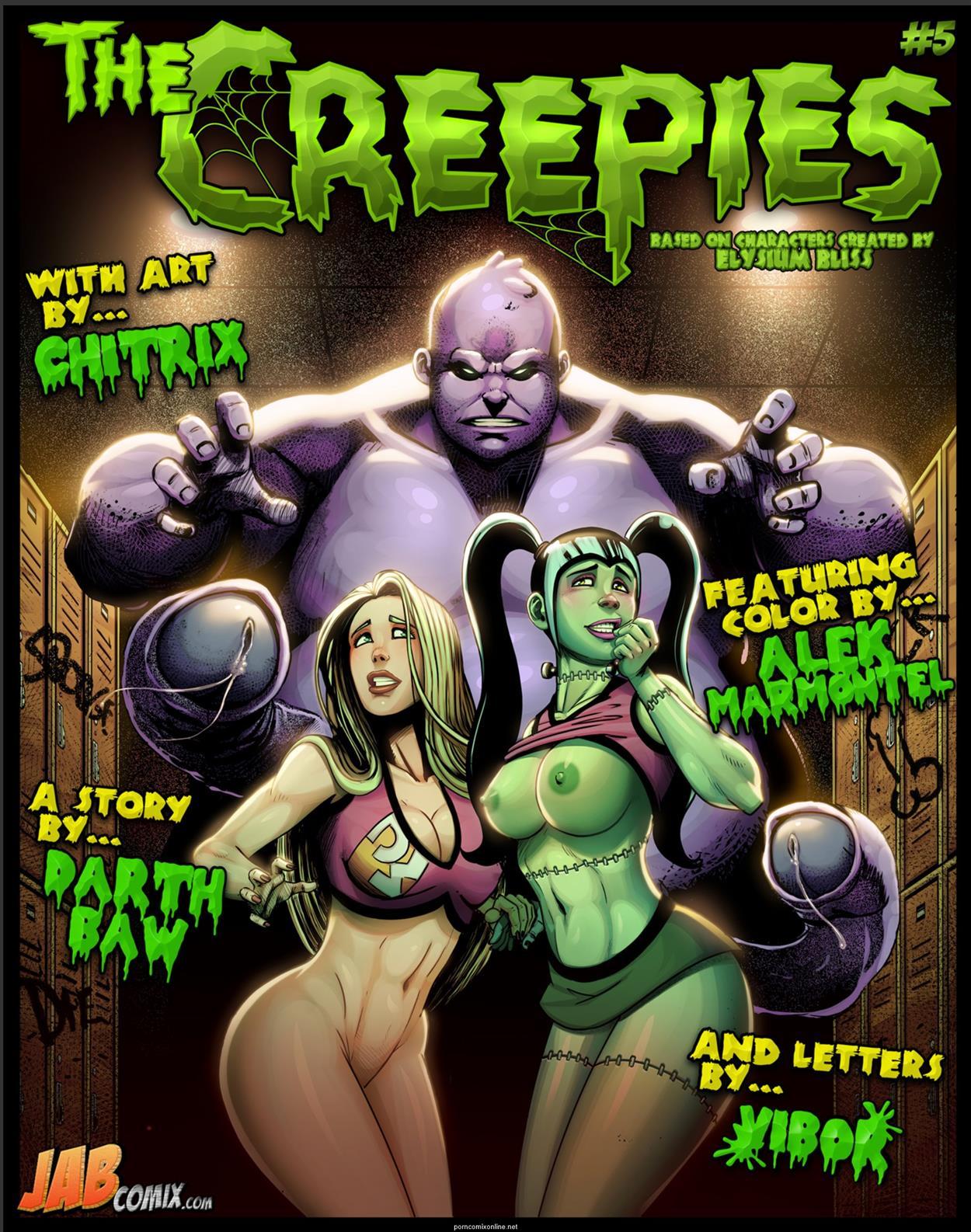 The Creepies 5 [Jabcomix]